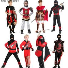 Ninja Halloween Costume Kids Ninja Cosplay Costumes Promotion Shop Promotional Ninja