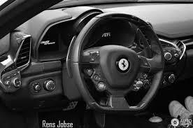 Ferrari 458 Black And White - ferrari 458 spider 25 november 2016 autogespot