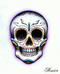 day of the dead skulls with the day of the dead and the
