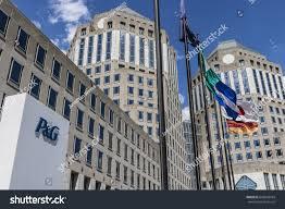 City Of Cincinnati Flag Cincinnati Circa May 2017 Procter Gamble Stock Foto 640658764