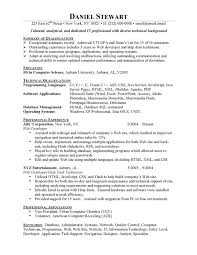Computer Technician Sample Resume by Entry Level Resume Examples