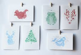 giveaway printed ornaments and cards going home to roost
