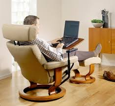 table for recliner chair laptop table stunning ekornes laptop table stressless personal