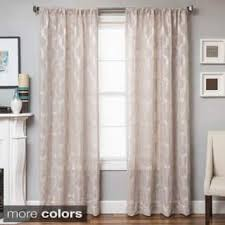Sheer Pinch Pleat Curtains 120 Inches Sheer Curtains For Less Overstock