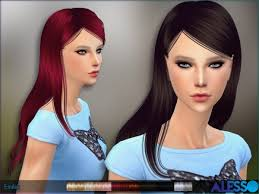 cc hair for sism4 download sims 4 cc hair live 4 simscc downloads