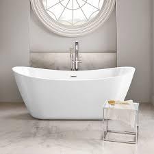 Modern Bathroom Tub Freestanding Bath Tub Roll Top Bath Designer Ended Luxury