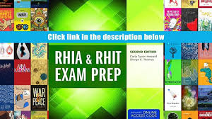 audiobook comprehensive review guide for health information rhia