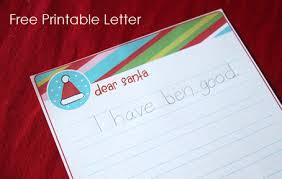 printable santa letters to santa letter to santa free printable