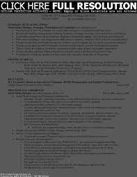 Sharepoint Resume Sample by Summary Of Qualifications Resume Examples Free Resume Example