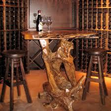 Rustic Bistro Table And Chairs Teak Diablo Pub Table By Groovystuff Rustic Teak Wood Pub Table