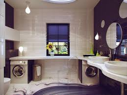 Laundry Room Sink Vanity by Endearing Modern Bathroom With Laundry Space Inspiring Design