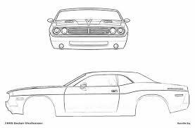 dodge challenger dimensions the blueprints com blueprints cars dodge dodge challenger