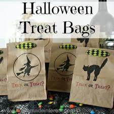halloween treat bags home made interest