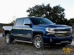 chevy trucks 2016 chevrolet silverado 1500 high country 4x4 review