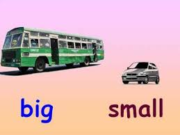 kids maths concepts of big and small youtube