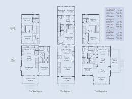 Townhome Floor Plan by Riverview Kiawah Island Real Estate