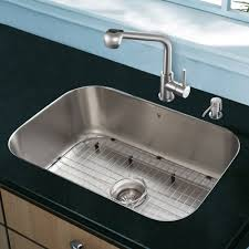 Vigo Stainless Steel Pull Out Kitchen Faucet by Sink U0026 Faucet Combinations