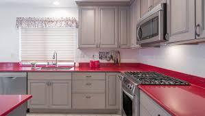 red kitchen countertops home design inspiraion ideas