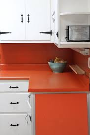 How To Paint Kitchen Countertops by Tutorial How To Paint Laminate Countertops With A Kit Apartment