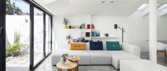 young couple turn back half of house into stunning modern home