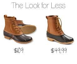womens boots look the look for less l l bean duck boot dupes at target the budget