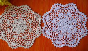 napperon de cuisine chaude dentelle coton table tapis cuisine créative crochet napperon