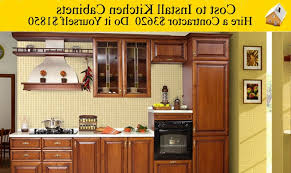 how much does it cost to install kitchen cabinets cost to install kitchen cabinets youtube how much does it cost