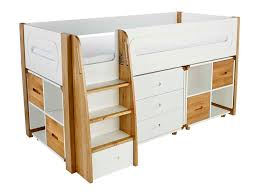 childrens mid sleeper beds stompa midsleepers
