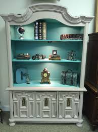 bookcase with a pop of color diy home decor pinterest china