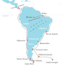 Cape Horn Map South America Venezuela On Emaze North America Latitude And