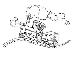 Steam Locomotive Coloring Pages Steam Locomotive On Bumpy Railroad Coloring Page Color Luna by Steam Locomotive Coloring Pages