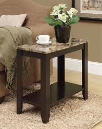 granite top end tables amazing marble top end tables wall decoration and furniture ideas