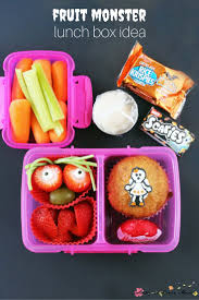 Monsters For Halloween by 5 Healthy Halloween Lunch Box Ideas Sugar Spice And Glitter