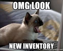 Omg Cat Meme - omg look new inventory omg cat at computer meme generator