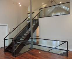 Types Of Banisters Types Glass Stair Railing Invisibleinkradio Home Decor