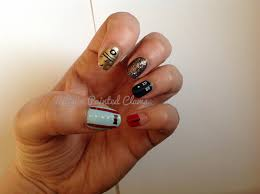 kitty u0027s painted claws nail art doctor who