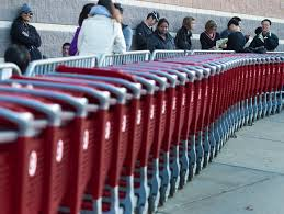 target open on black friday target reports much stronger holiday results than walmart