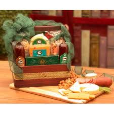 sausage gift basket sausage cheese gift tote meat cheese gift basket salami nuts