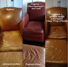 cognac color leather furniture dye reviews and pictures