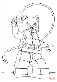 lego catwoman coloring page free printable coloring pages