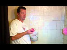 How To Regrout Bathroom Tile How To Re Grout Bathroom Tile Youtube