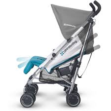 Disney Umbrella Stroller With Canopy by Uppababy G Luxe Stroller Makena Purple Silver Discontinued