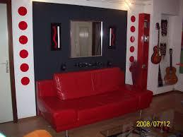 Tapis De Salon Rouge by Indogate Com Chambre A Coucher Gris Et Rouge