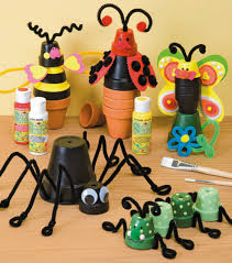 clay pot crafts for kids
