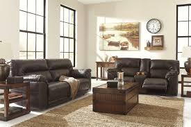 presley cocoa reclining sofa ashley furniture reclining sofa furniture design ideas