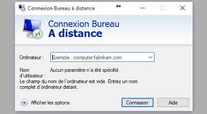 windows 7 bureau à distance paramètres fichier rdp bureau à distance site officiel de fab