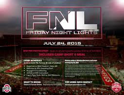 friday night lights ohio fnl the experience from the stands eleven warriors