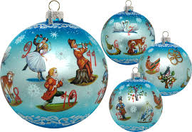 collectible glass ornaments unique scenic ornaments