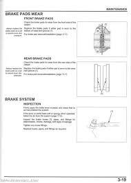 2014 2015 honda vfr800 f fd interceptor motorcycle service manual