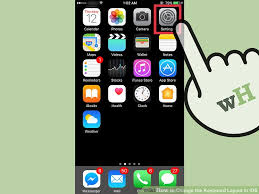 email keyboard layout iphone how to change the keyboard layout in ios 12 steps with pictures